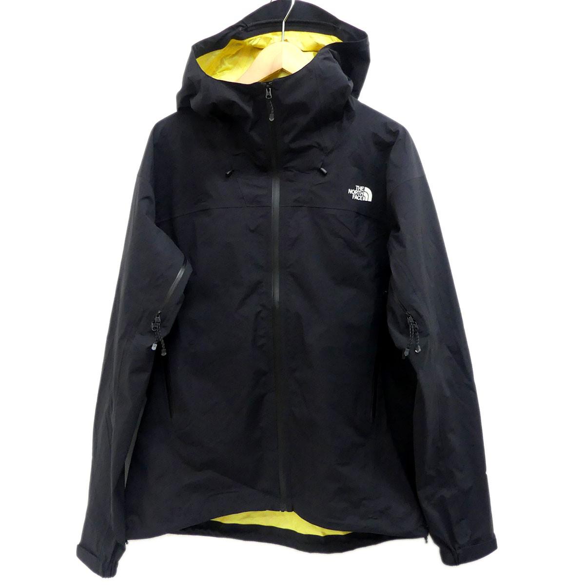 【中古】THE NORTH FACE マウンテンパーカー Super Climb Jacket ブラック サイズ:L 【011219】(ザノースフェイス)