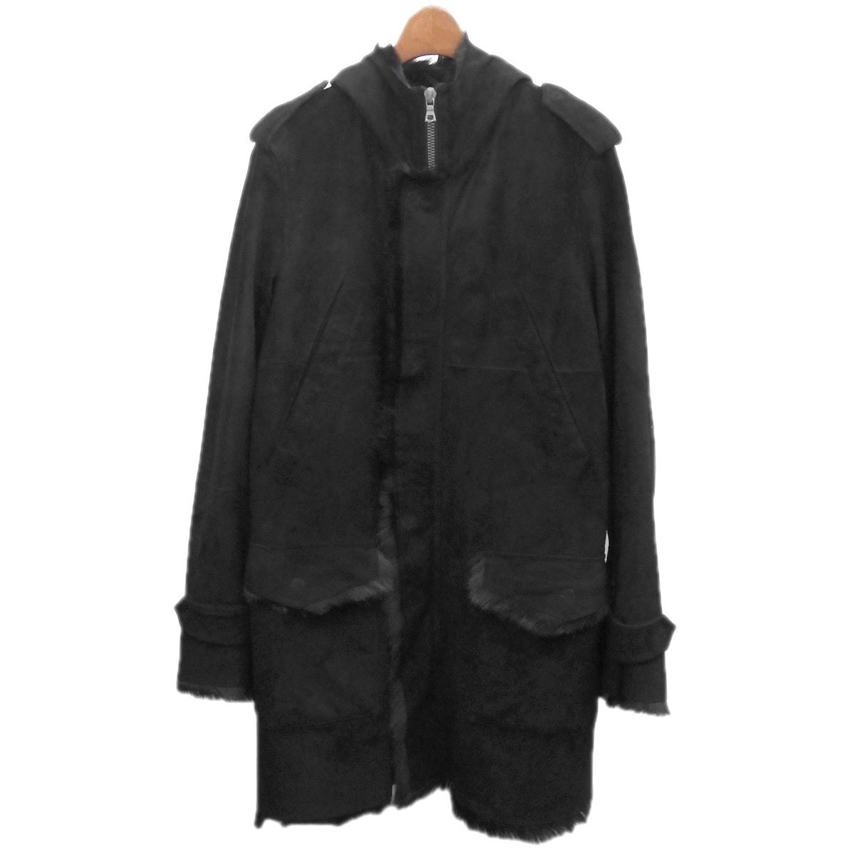 【中古】ISAMU KATAYAMA BACKLASHキッドコート ブラック サイズ:M【2月17日見直し】