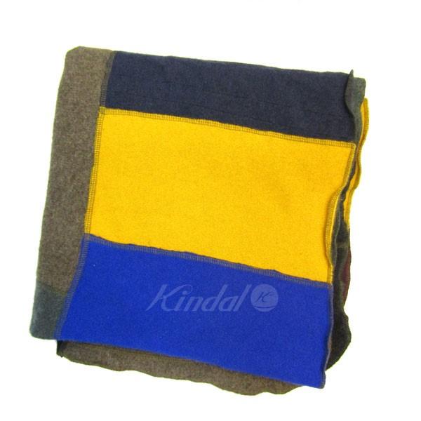 【中古】blanketyblankblank リサイクルカシミヤパッチワークマフラー マルチ サイズ:- 【041219】(blanketyblankblank)