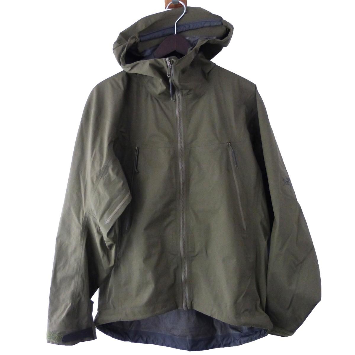 【中古】ARCTERYX 「Alpha LT Jacket GEN2」GORE-TEXアルファジャケット レンジャーグリーン サイズ:S/P 【061219】(アークテリクス)