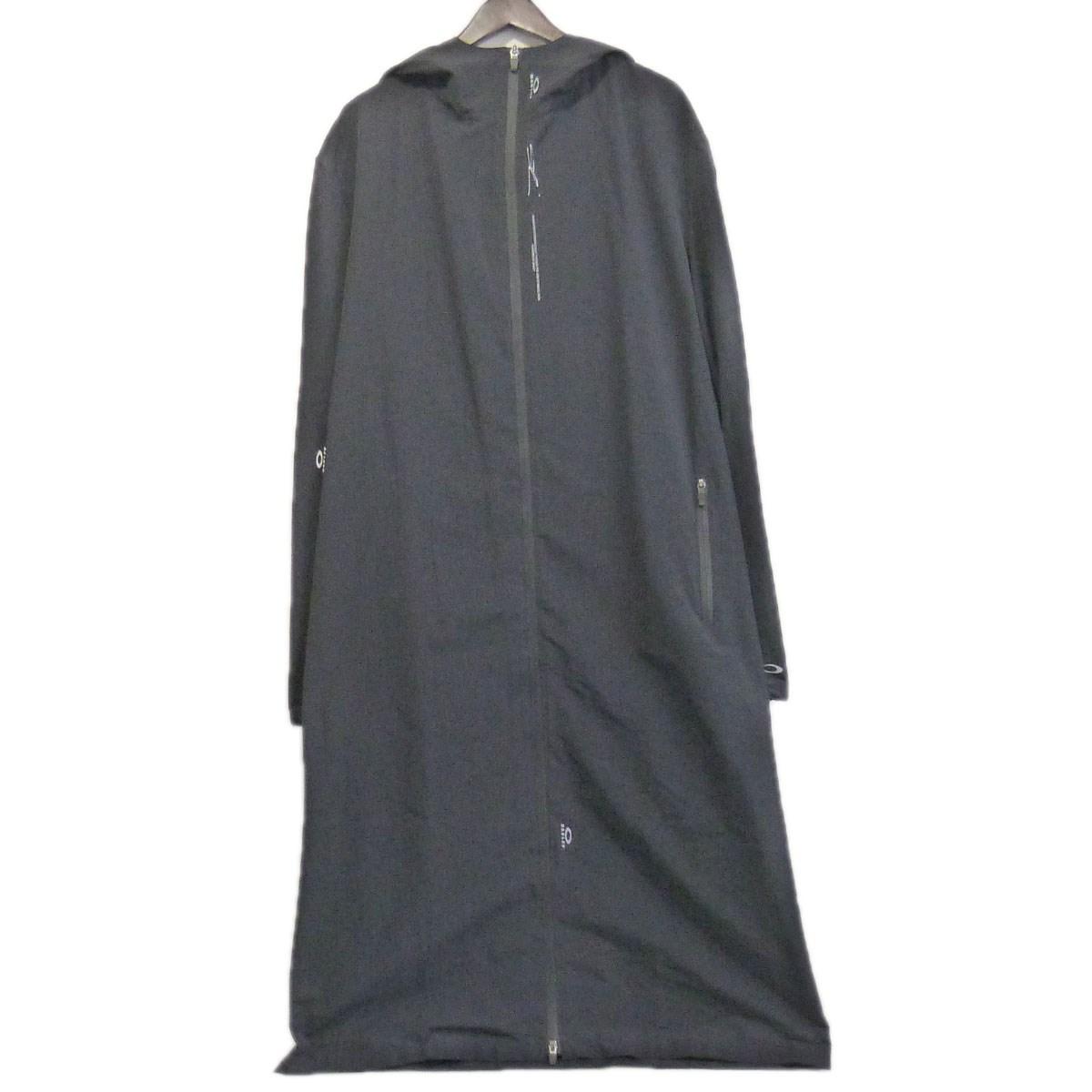 【中古】OAKLEY by samuel ross 「LONG COAT」 フーデッドコート ブラック サイズ:L 【071219】(オークリー バイ サミュエルロス)