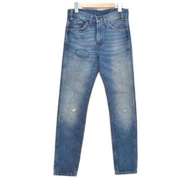 【中古】LEVIS VINTAGE CLOTHING 加工デニムパンツ 606 30605-0067 インディゴ サイズ:28 【081219】(リーバイスヴィンテージクロージング)