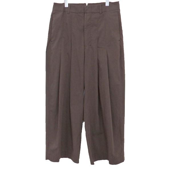【中古】SHINYA KOZUKAバギーパンツ 1901SK55 ブラウン サイズ:M【3月2日見直し】