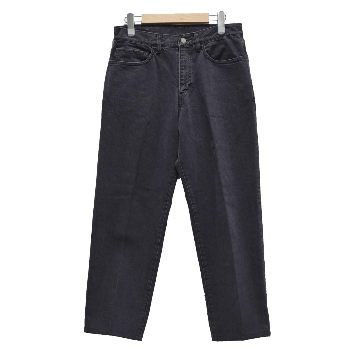 【中古】phingerin JT2 JEANS デニムパンツ ブラック サイズ:S 【111219】(フィンガリン)