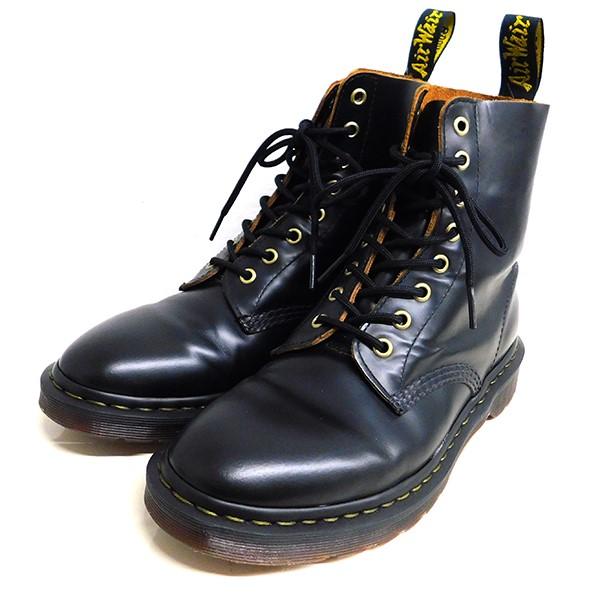 【中古】Dr.Martens PASCAL 8ホールブーツ ブラック サイズ:US8 【111219】(ドクターマーチン)