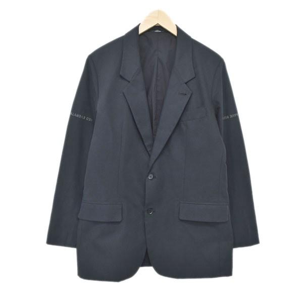 【中古】KOMAKINO 19AW 2Bテーラードジャケット ブラック サイズ:S 【121219】(コマキノ)