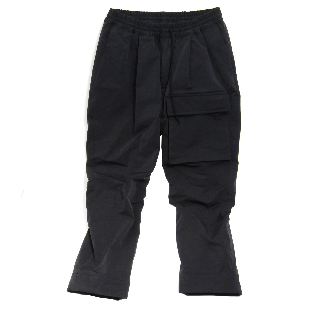 【中古】MOUT RECON TAILORlow loft leg pocket pant レッグポケット イージーパンツ ブラック サイズ:46 【3月12日見直し】