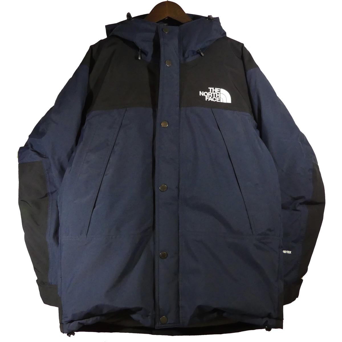 【中古】THE NORTH FACE Mountain Down Jacket ネイビー サイズ:M 【141219】(ザノースフェイス)