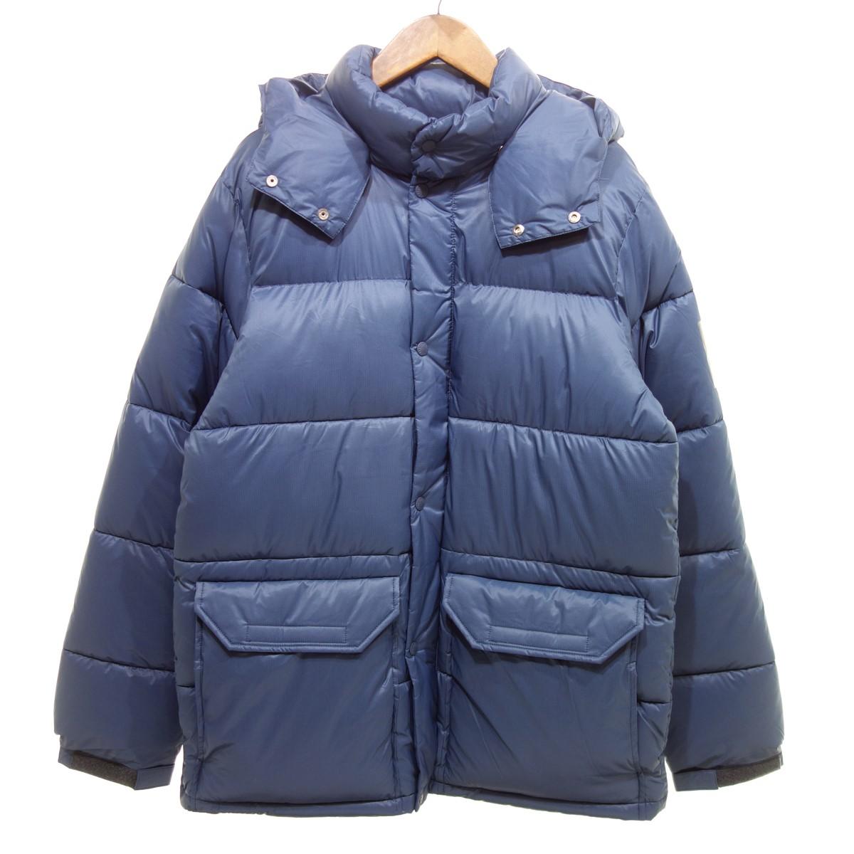 【中古】THE NORTH FACE CAMP Sierra Short ダウンジャケット ネイビー サイズ:XL 【151219】(ザノースフェイス)