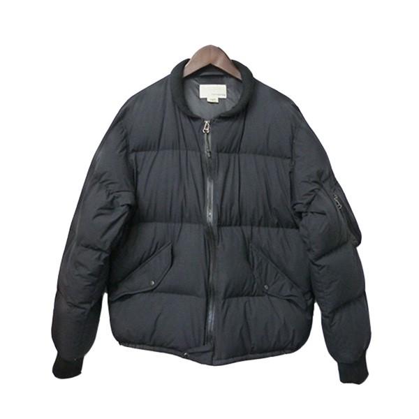 【中古】nanamicaダブルジップダウンジャケット Down Jacket ブラック サイズ:M【1月20日見直し】