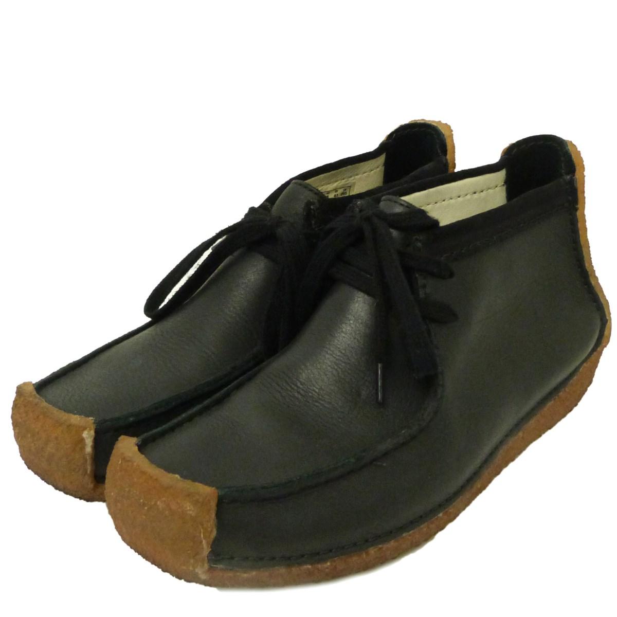 【中古】LEMAIRE × CLARKS ワラビーブーツ ブラック サイズ:7 【161219】(ルメール クラークス)
