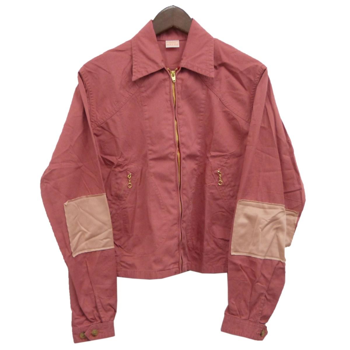 【中古】MAISON EUREKAワークジャケット ピンク サイズ:S 【4月20日見直し】