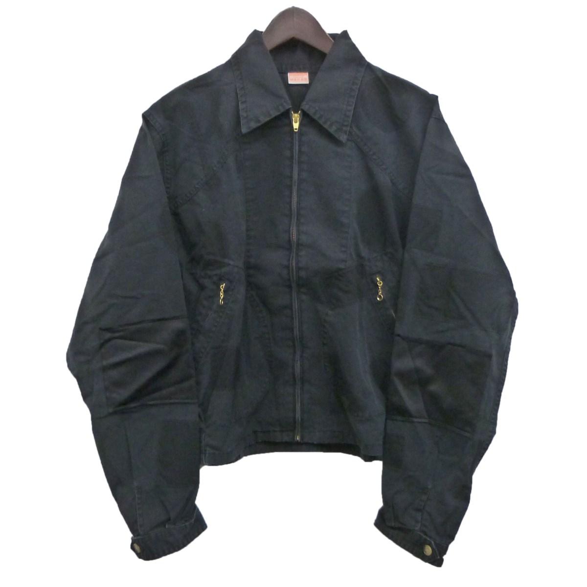 【中古】MAISON EUREKAワークジャケット ブラック サイズ:M 【4月20日見直し】