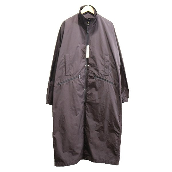 【中古】SCYE BASICS19AW P/N Garment Dyed Adjustable Length Coat コート Chestnut ブラウン系 サイズ:38 【4月6日見直し】