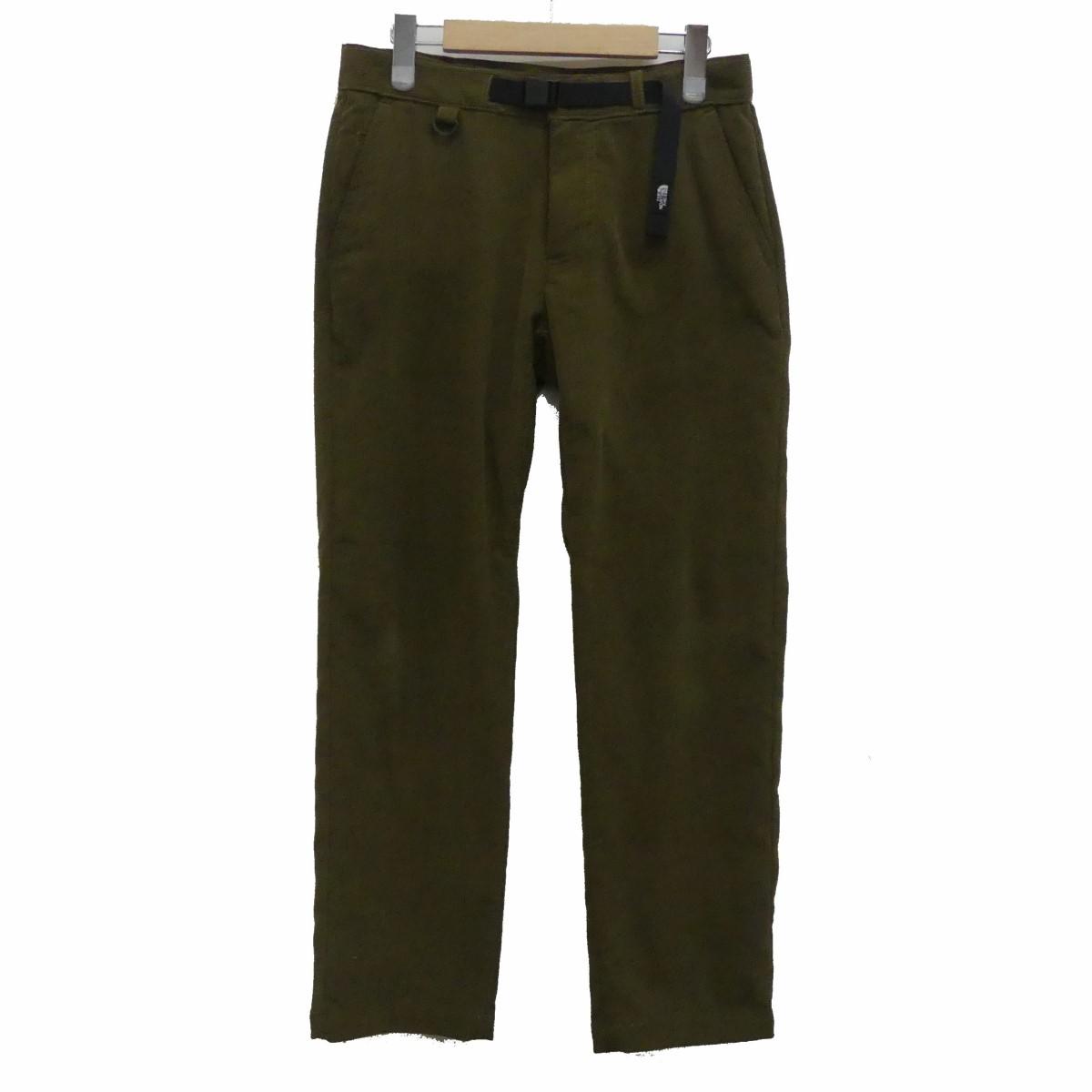 【中古】THE NORTH FACE Stretch Corduroy Pant コーデュロイパンツ オリーブ サイズ:S 【191219】(ザノースフェイス)