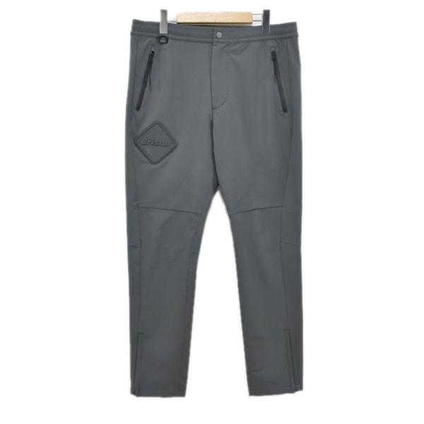 【中古】F.C.R.B. 19AW WARM UP PANTS パンツ 192001 グレー サイズ:XL 【201219】(エフシーアールビー)