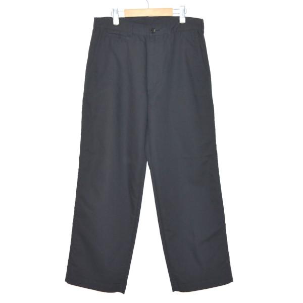 【中古】COMME des GARCONS HOMME 16AW Chino cloth Trousers チノパン ブラック サイズ:M 【201219】(コムデギャルソンオム)