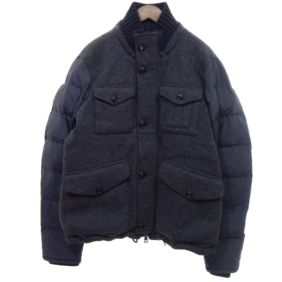 【中古】MONCLER HONORAT ダウンジャケット グレー サイズ:6 【201219】(モンクレール)