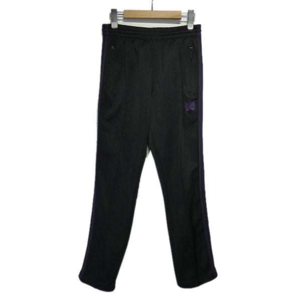 【中古】Needles サイドライントラックパンツ ブラック サイズ:2 【201219】(ニードルス)