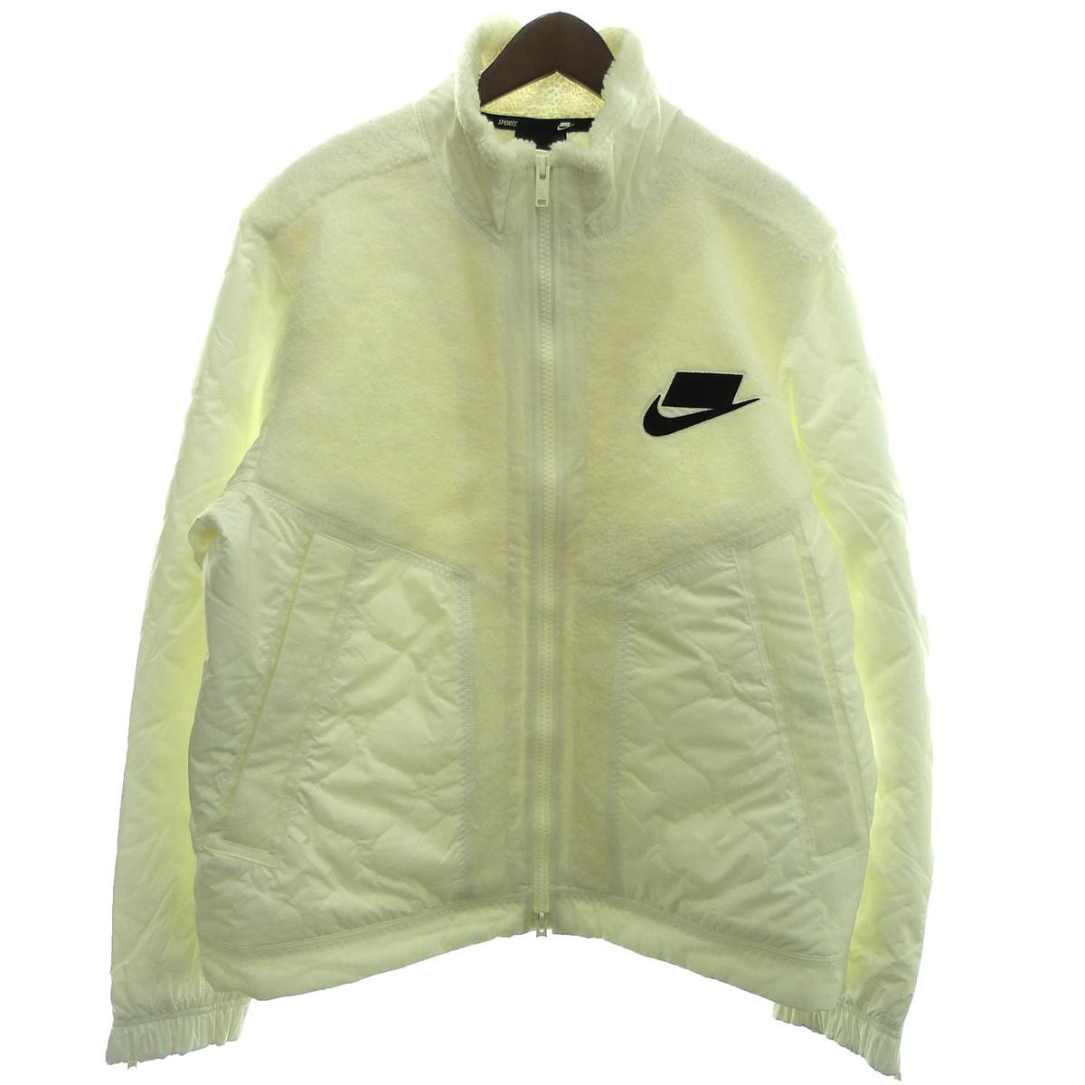 【中古】NIKE 19AW「AS M NSW SYN FILL JKT MIX」フィルMIXジャケット ホワイト サイズ:XL 【221219】(ナイキ)