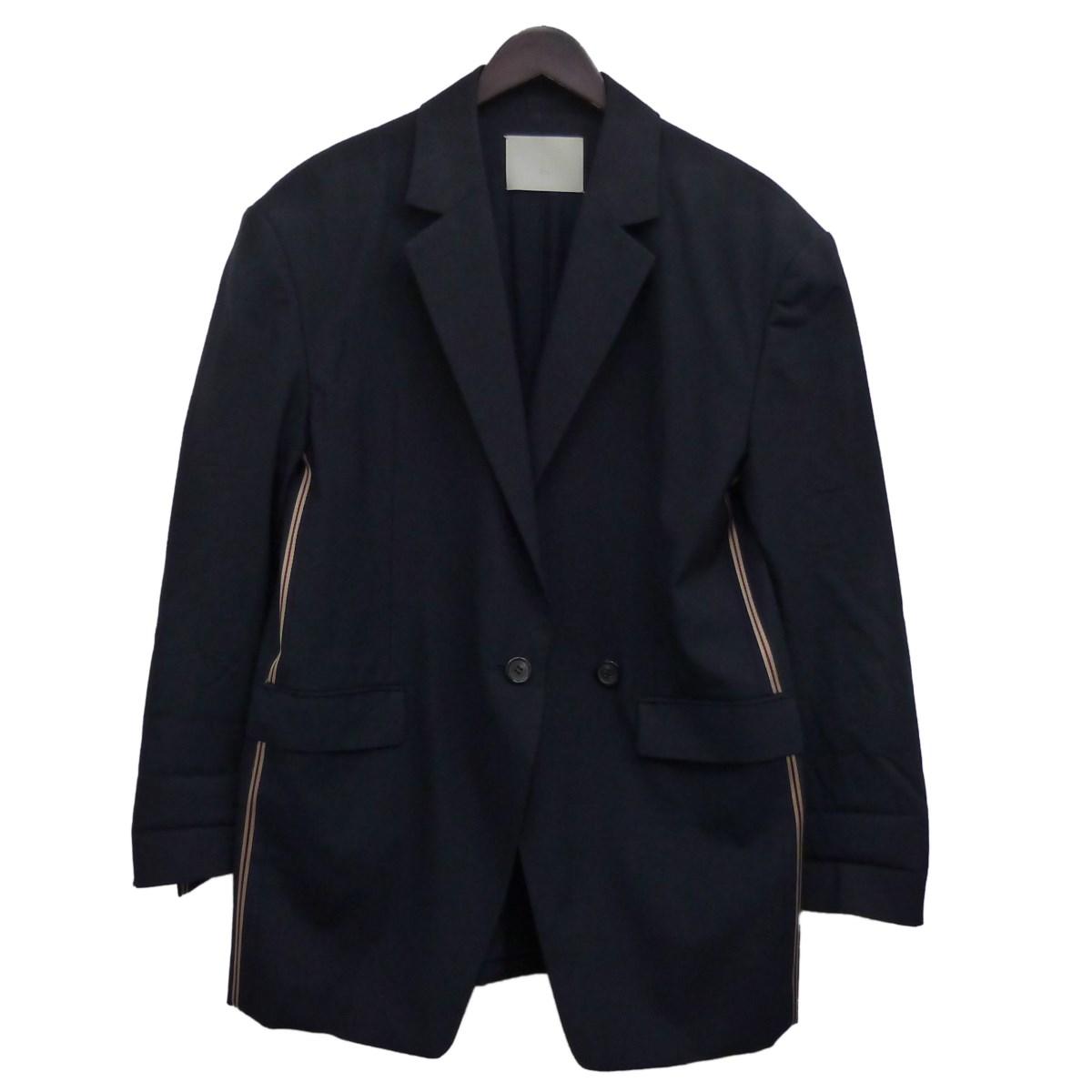 【中古】Ritoワイドショルダージャケット ネイビー サイズ:38