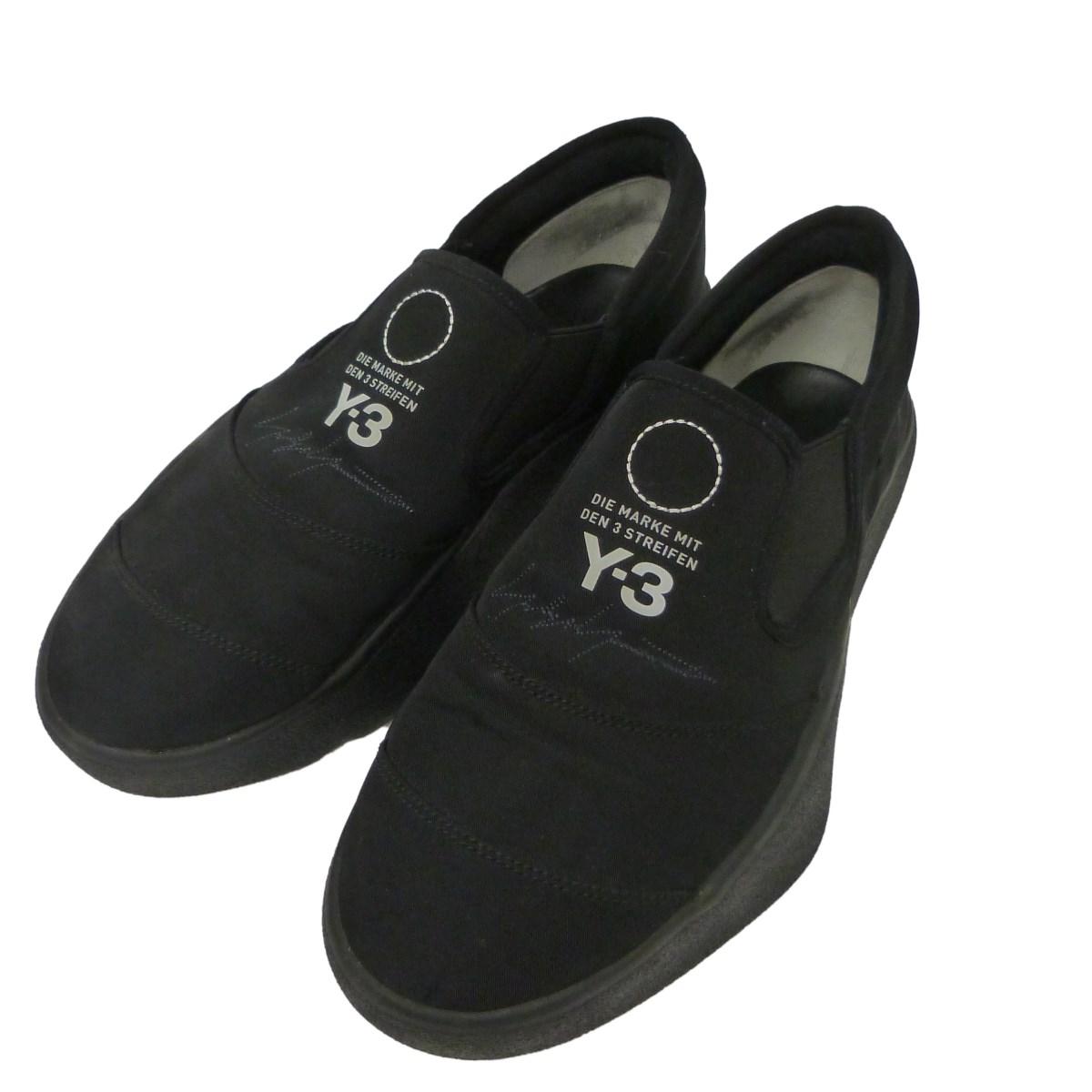 【中古】Y-3 「TANGUTSU」スニーカー ブラック サイズ:27cm 【261219】(ワイスリー)