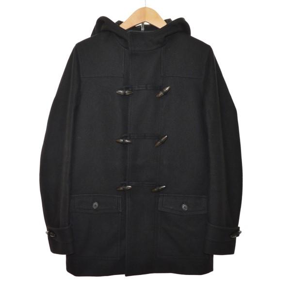 【中古】Dior Homme 08AW クリス・ヴァン・アッシュ期 ダッフルコート ブラック サイズ:44 【281219】(ディオールオム)