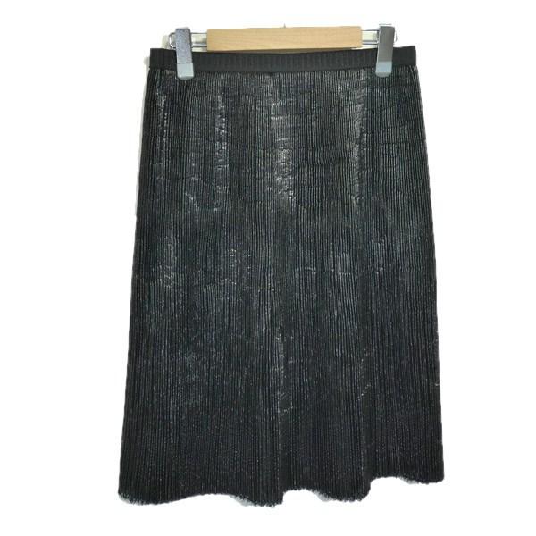 マルニ 値引き 中古 MARNI 人気ブランド多数対象 2013AW 291219 サイズ:40 プリーツスカート ブラック