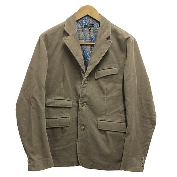 【中古】Engineered Garments コーデュロイジャケット/Loiter Jacket ブラウン サイズ:S 【291219】(エンジニアードガーメンツ)