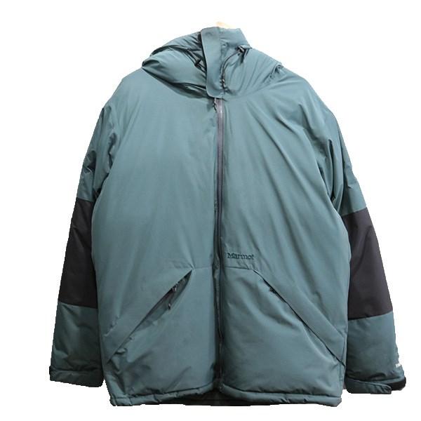 【中古】VAINL ARCHIVE × Marmot SP DOWN ダウンジャケット グレー ブラック サイズ:M 【301219】(ヴァイナル アーカイブ マーモット)