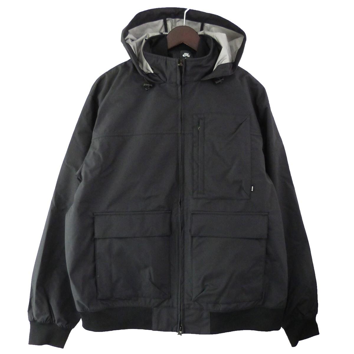 【中古】NIKE SB 19AW シールドスケートボードジャケット ブラック サイズ:XL 【040120】(ナイキ エスビー)