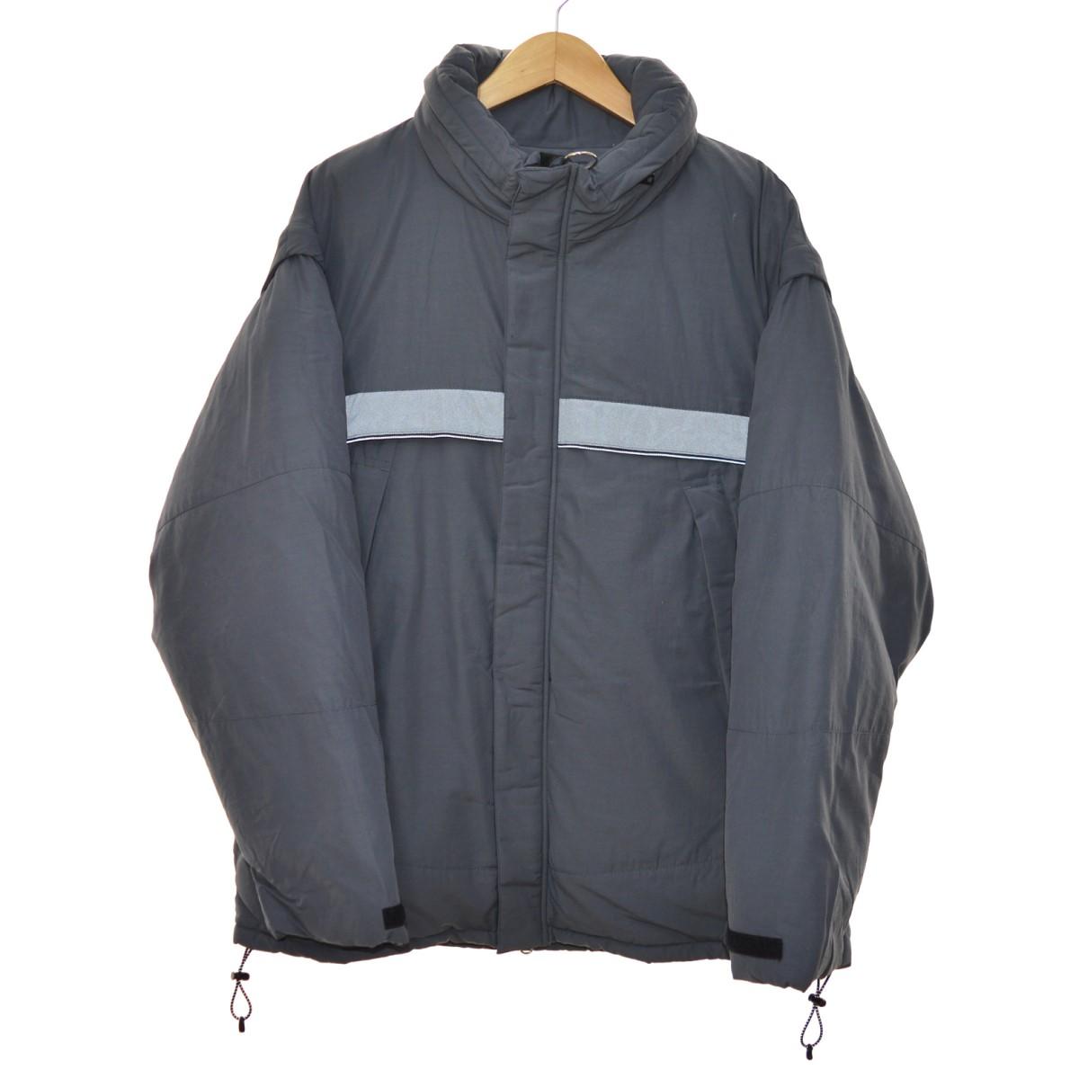 【中古】MONKEY TIME 2WAYダウンジャケット グレー サイズ:M 【080120】(モンキータイム)