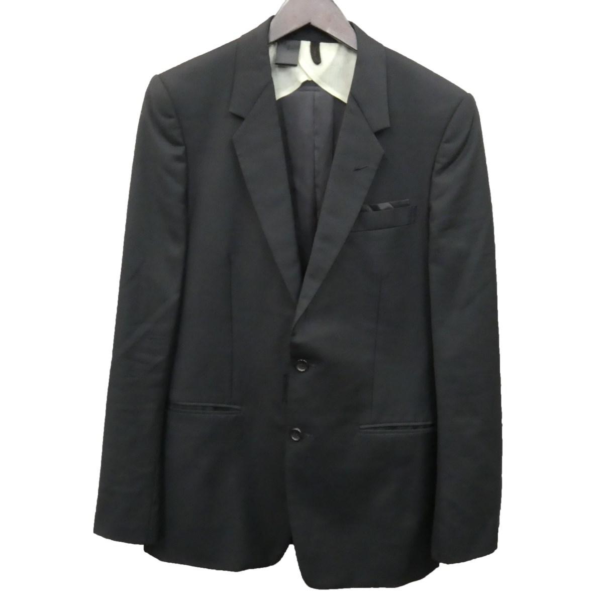 【中古】N.HOOLYWOODコンパイルライン テーラードジャケット ブラック サイズ:38 【3月30日見直し】
