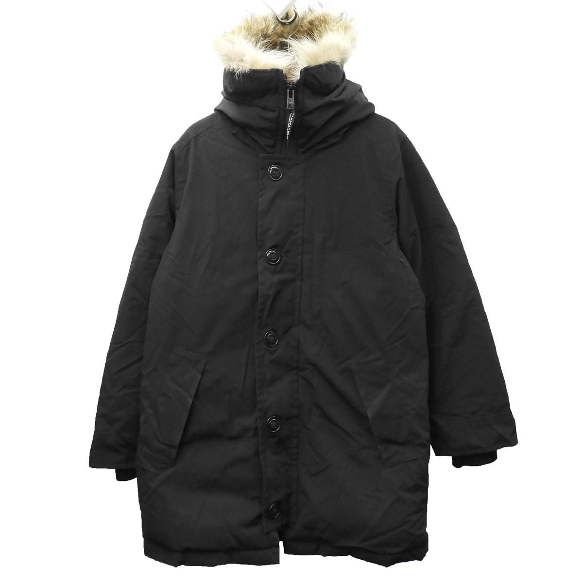 【中古】CANADA GOOSE 「Vancouver Jacket」 ダウンジャケット ブラック サイズ:S/P 【120120】(カナダグース)