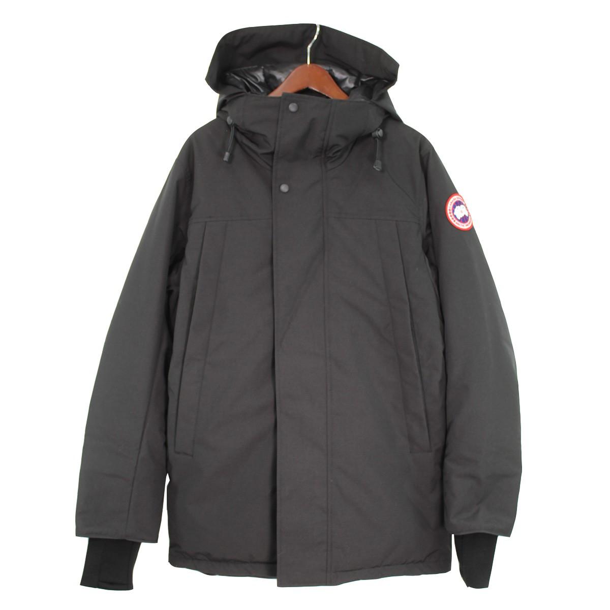 【中古】CANADA GOOSE 19AW SANFORD PARKA ダウンジャケット ブラック サイズ:XS 【120120】(カナダグース)