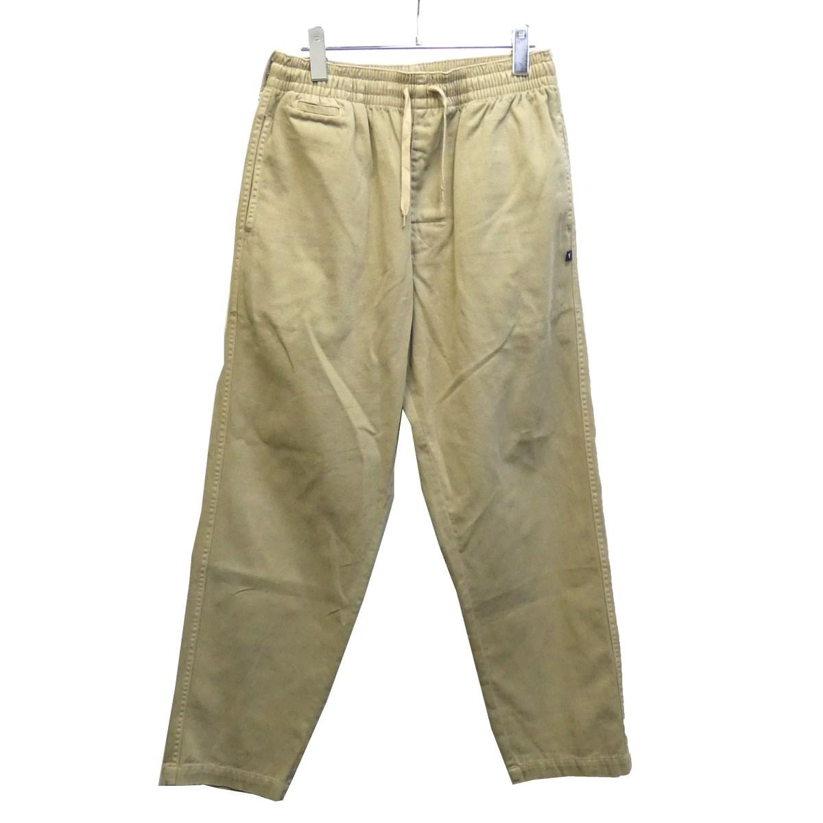 【中古】DESCENDANT 19SS「SHORE TWILL PANTS」ツイルイージーパンツ オリーブ サイズ:2 【130120】(ディセンダント)