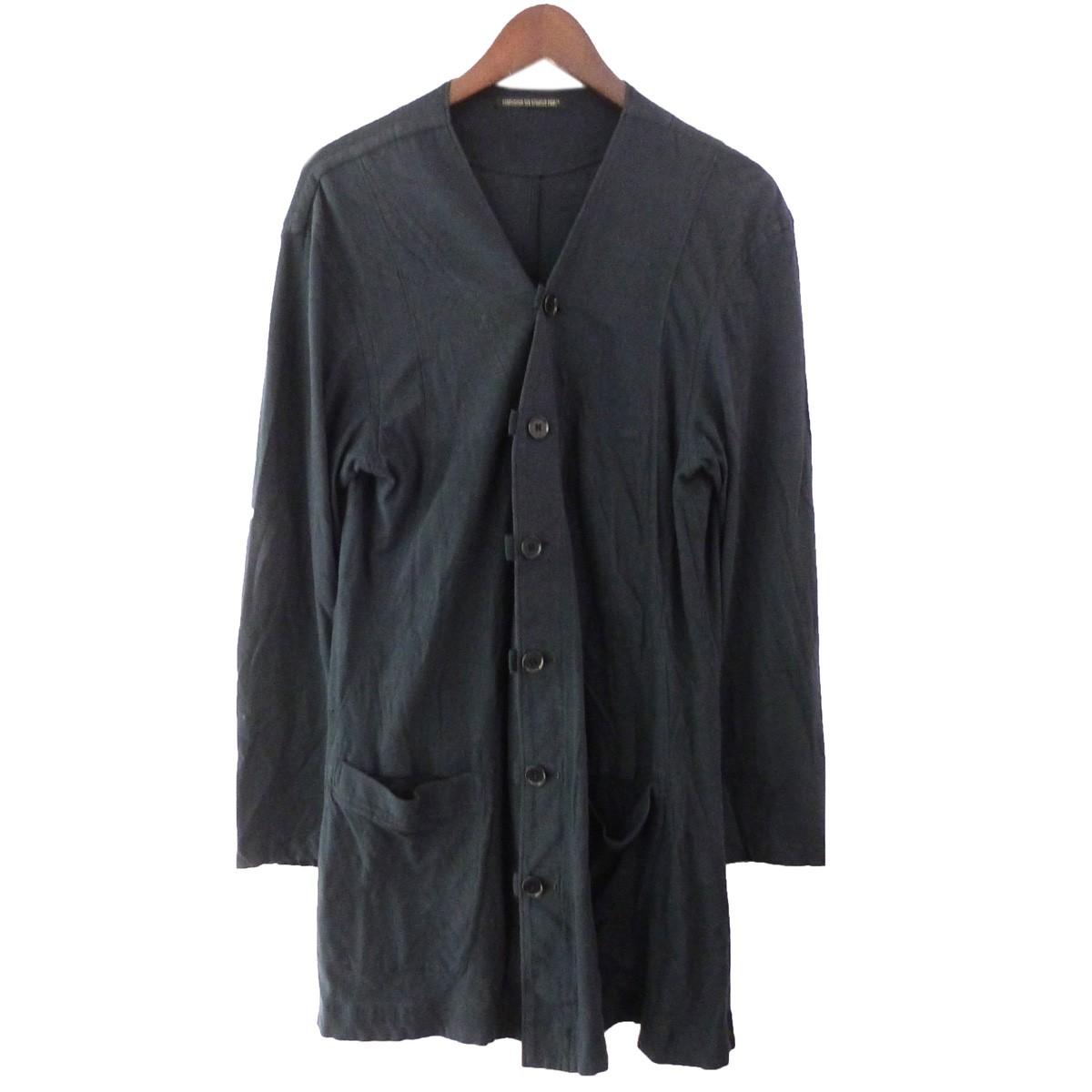 【中古】YOHJI YAMAMOTO pour homme袴ジャケット ブラック サイズ:2 【5月14日見直し】