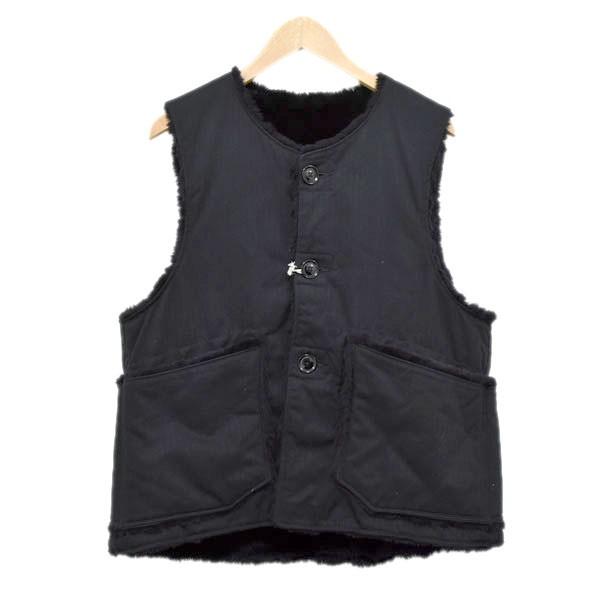 【中古】Engineered Garments OVER VEST リバーシブル オーバーベスト 【516962】 【KIND1884】