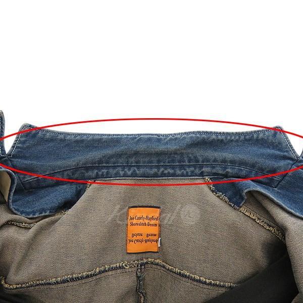 Joe Casely Hayford デニムテーラードジャケット インディゴ サイズ 3190120ジョーケイスリーヘイフォードCoWQrBedxE