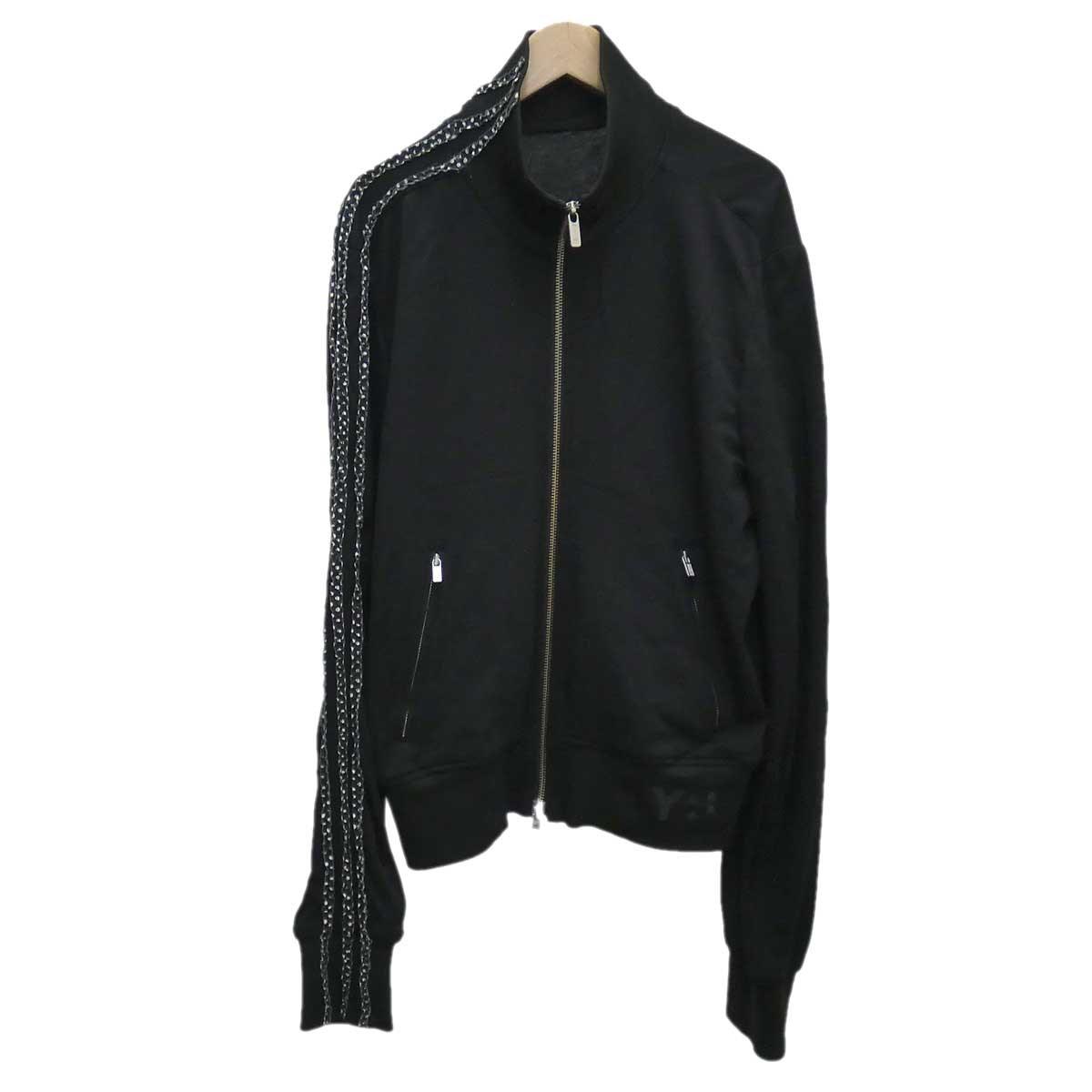 【中古】Y-3 トラックジャケット ブラック サイズ:S 【200120】(ワイスリー)