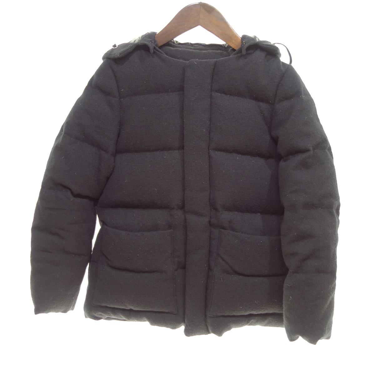 【中古】tricot COMME des GARCONS 【2013A/W】フード付ダウンジャケット ブラック サイズ:S 【210120】(トリココムデギャルソン)