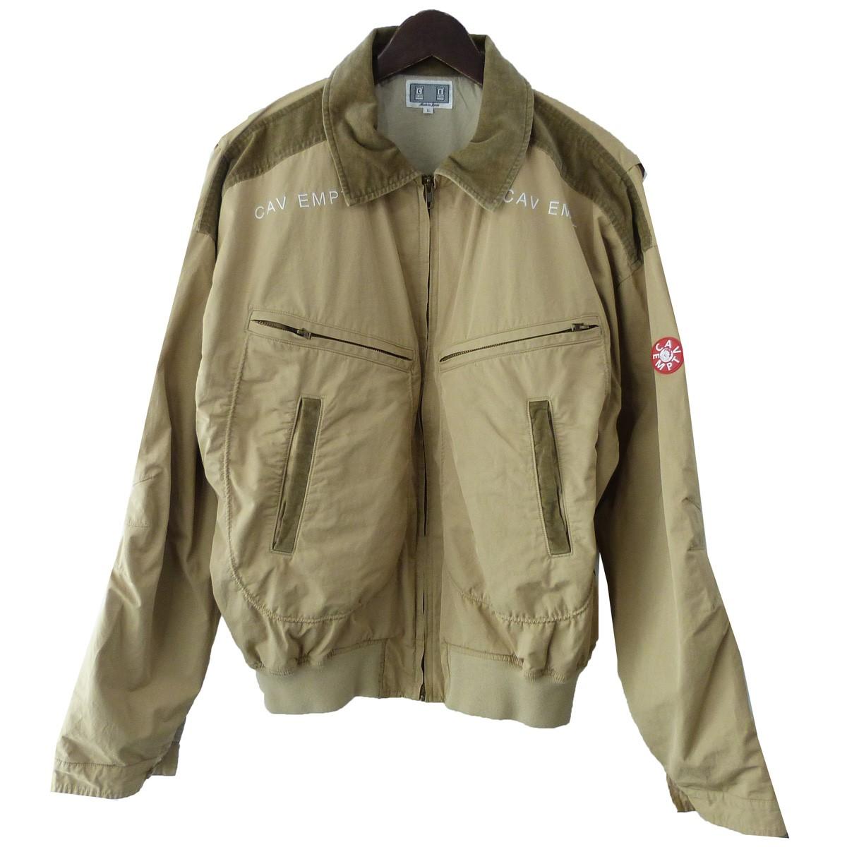 【中古】C.E 「DISEGNO ZIP JACKET」ZIPジャケット ベージュ サイズ:L 【210120】(シーイー)