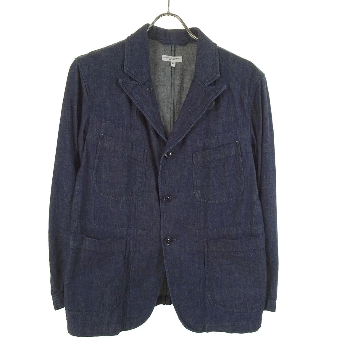 【中古】Engineered Garments Bedford Jacket Solid 19SS ベッドフォードジャケット インディゴ サイズ:XS 【230120】(エンジニアードガーメンツ)