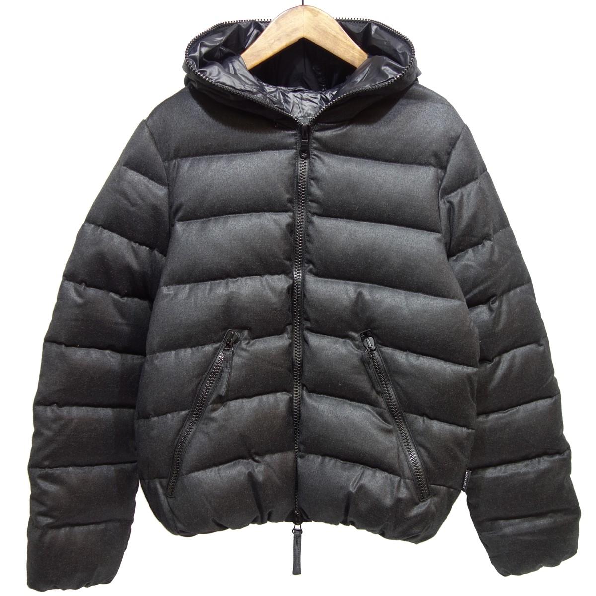 【中古】DUVETICA DIONISIO wool ダウンジャケット グレー サイズ:48 【230120】(デュベティカ)