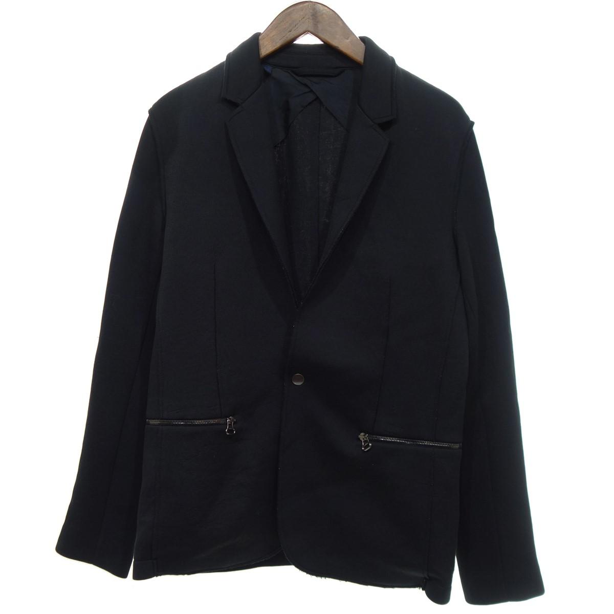 【中古】LANVIN Lanvin Zipped Pocket Blazer ジャケット ブラック サイズ:46 【250120】(ランバン)