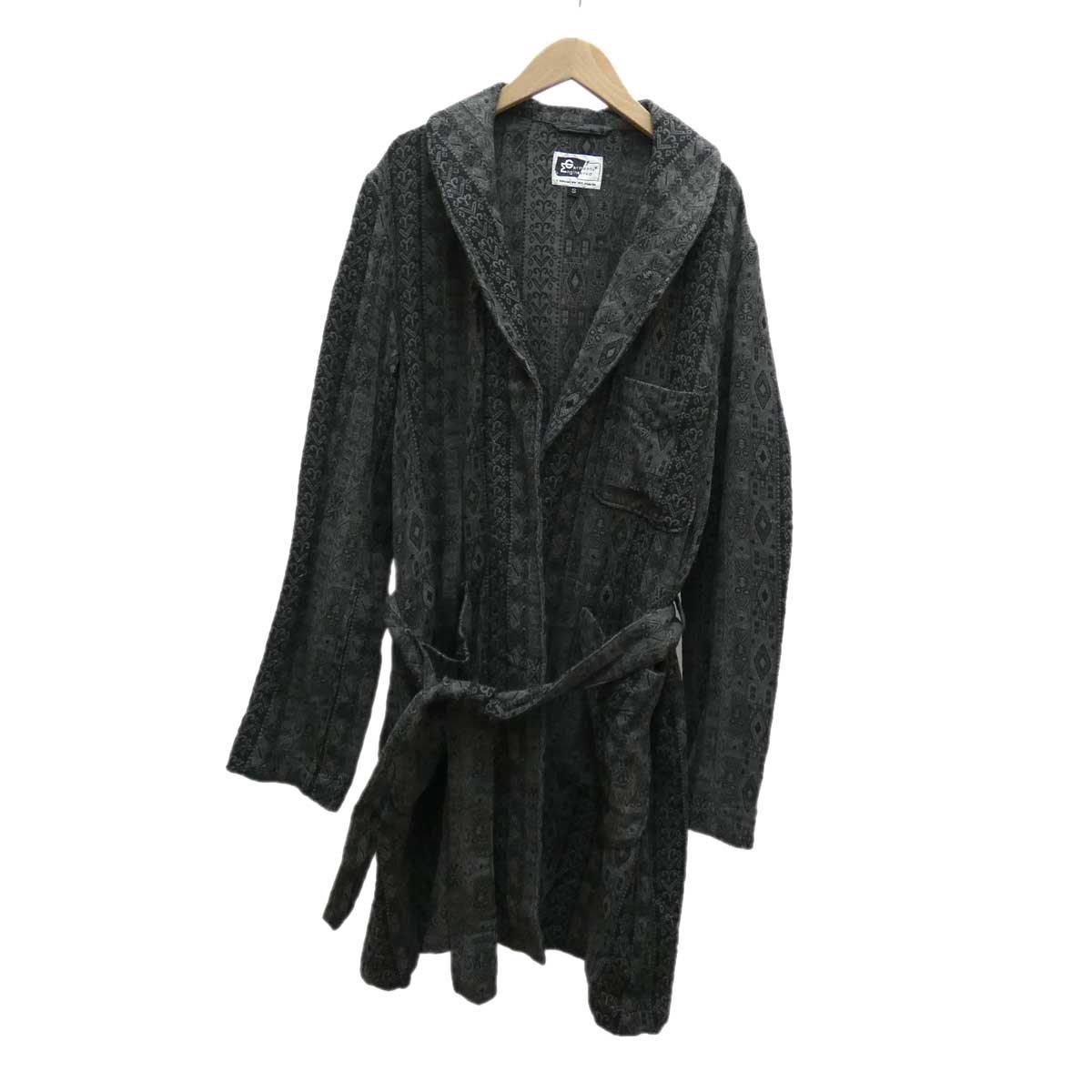 【中古】Engineered Garments コットンジャガードローブコート グレー サイズ:S 【280120】(エンジニアードガーメンツ)