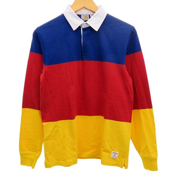 Kindal Carhartt Wip Rugby Shirt Blue X