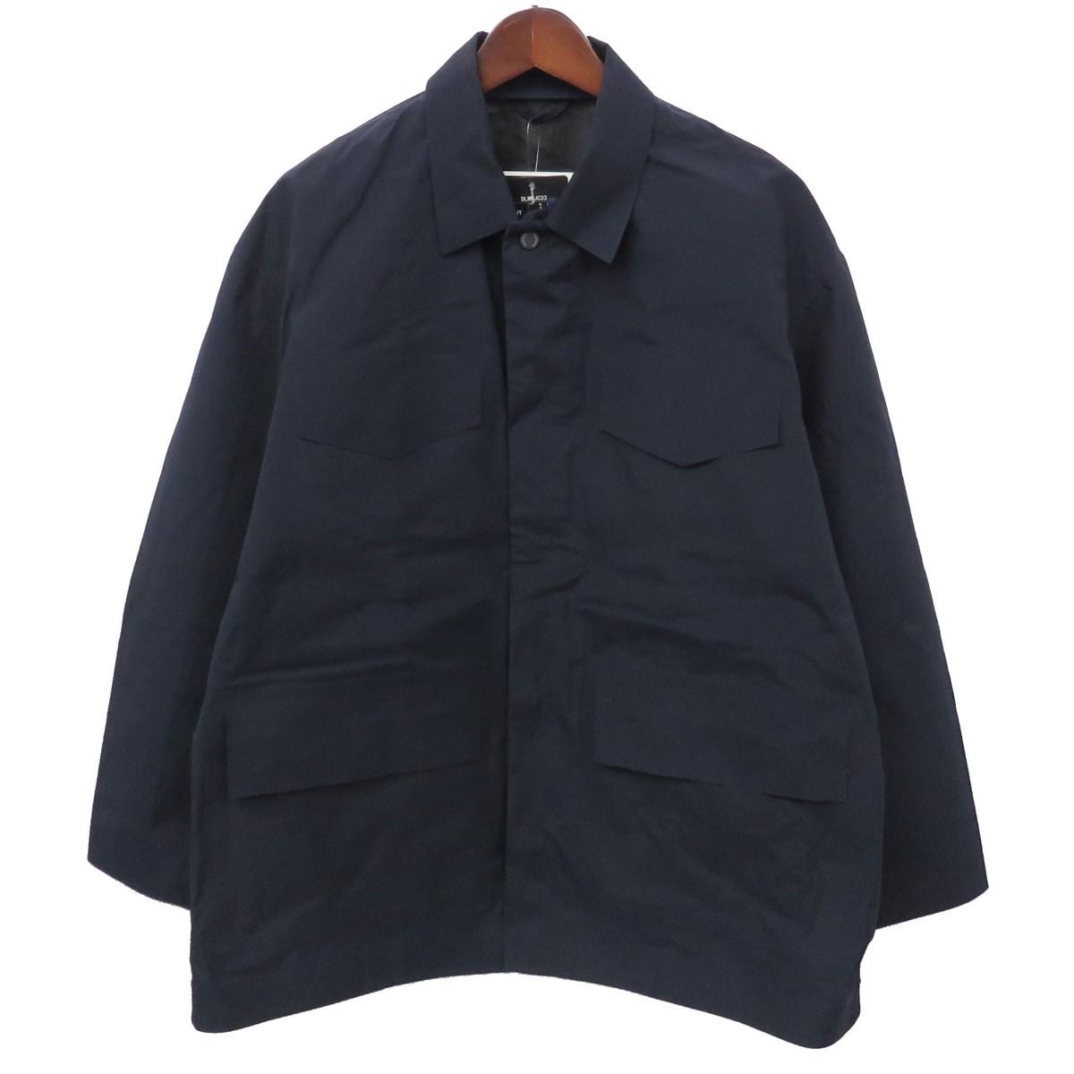 【中古】DESCENTE PAUSE M51 BIG BLOUSON DLMMJC ミリタリービッグジャケット ネイビー サイズ:S 【300120】(デサントポーズ)