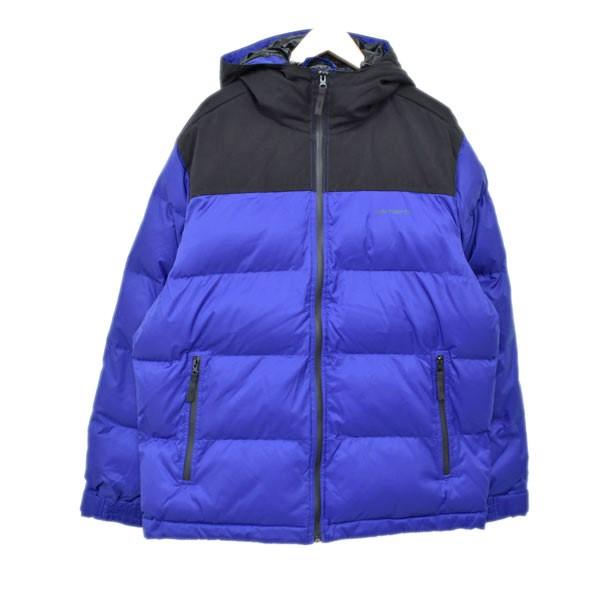 【中古】Carhartt WIP LARSEN JACKET 中綿ジャケット ブルー×ブラック サイズ:L 【010220】(カーハート ダブリューアイピー)