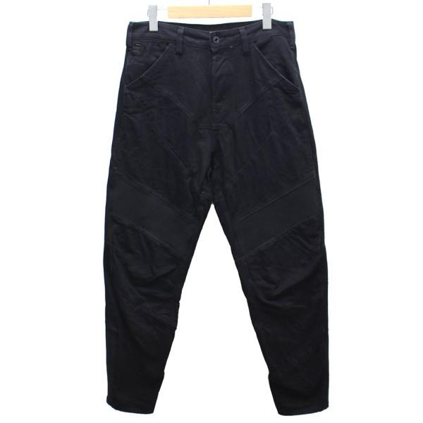 【中古】G-STAR RAW Motac-X Deconstructed Loose Cropped Jeans デニムパンツ ブラック サイズ:29 【310120】(ジースター・ロウ)